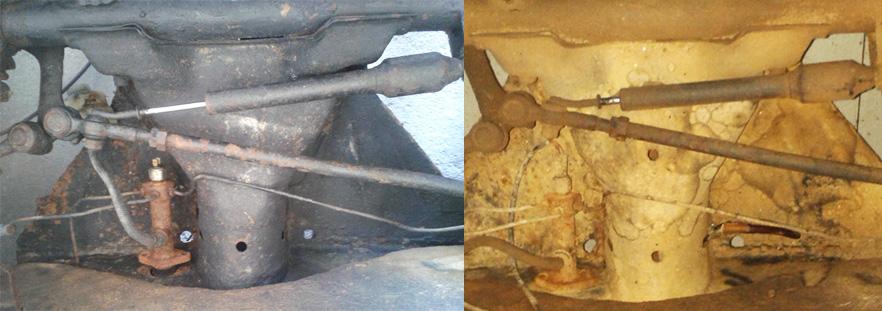 Restauração do Bugre IV Cabecote