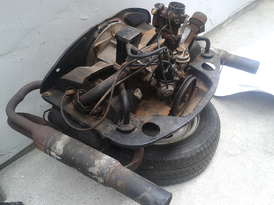 Restauração do Bugre IV Motor_1