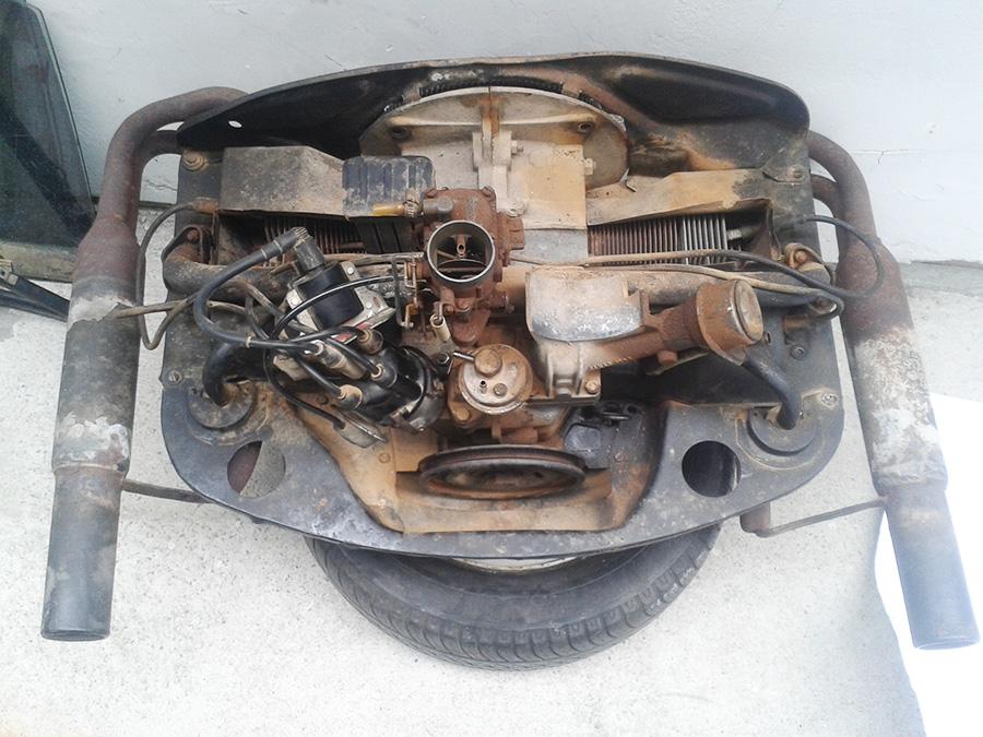 Restauração do Bugre IV Motor_2